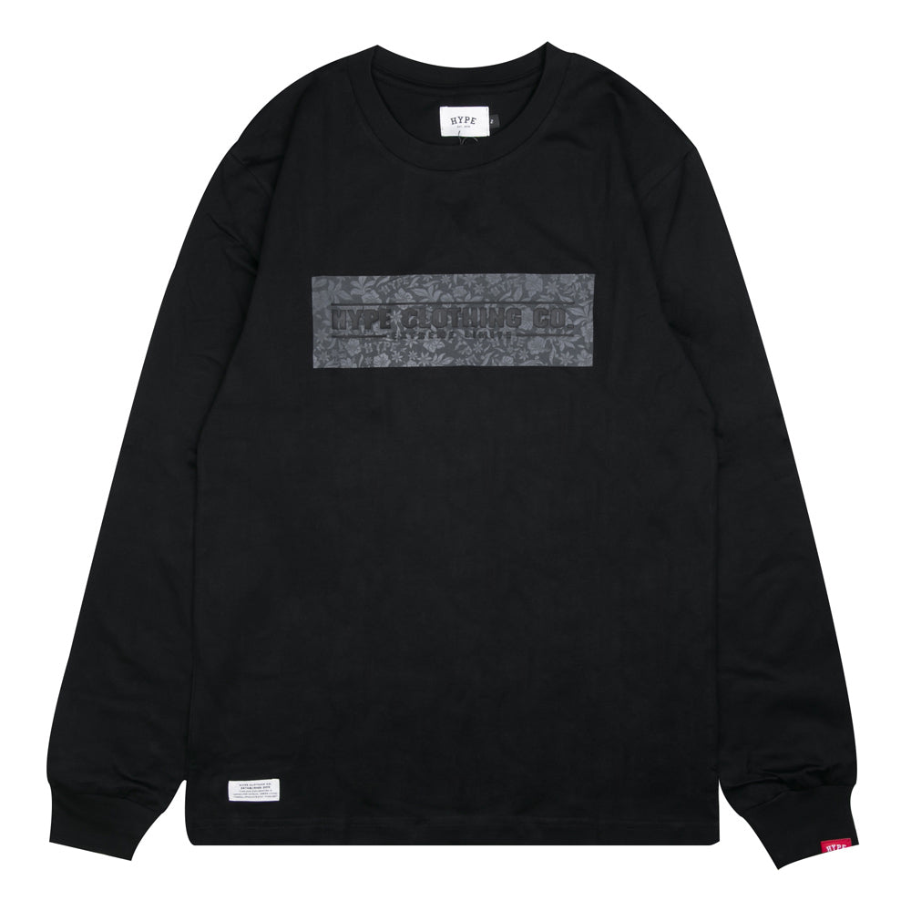 Seasonal Raiden Long Sleeve Tee | Black