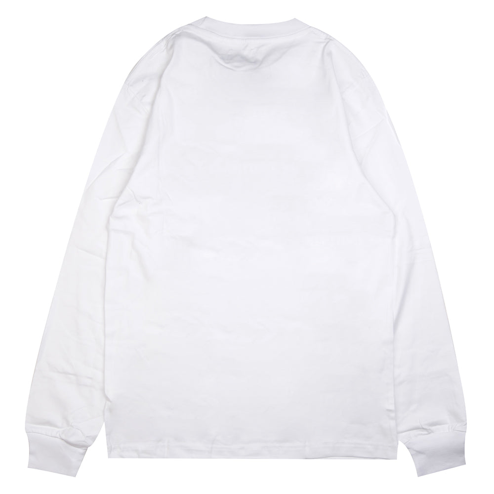 Seasonal Raiden Long Sleeve Tee | White