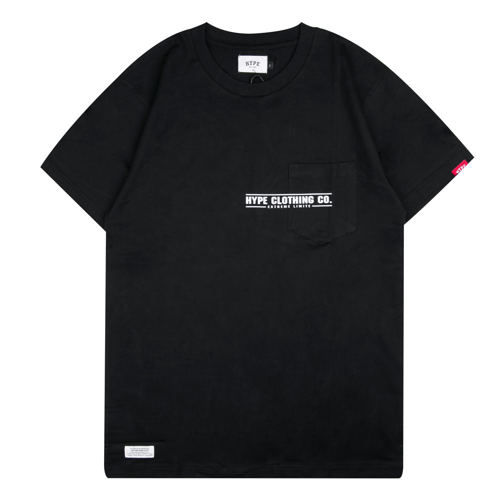 Seasonal Ray Short Sleeve Tee | Black
