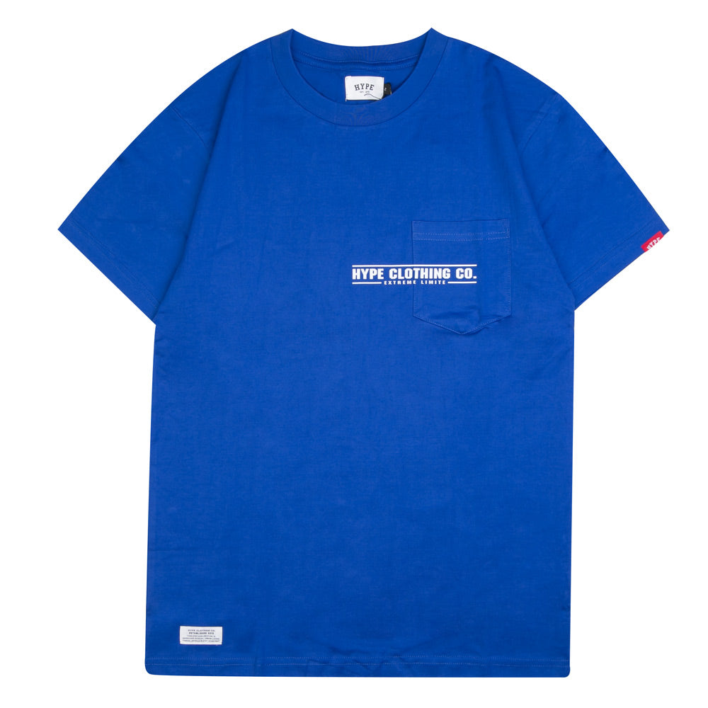 Seasonal Ray Short Sleeve Tee | Blue