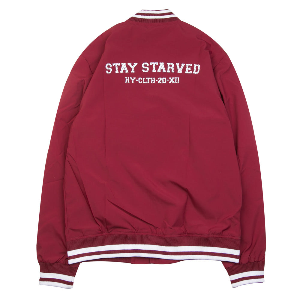 Seasonal Reed Varsity Jacket | Maroon
