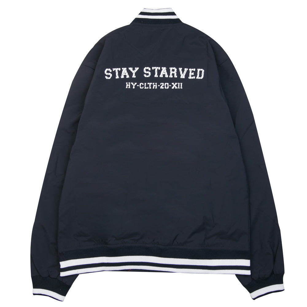 Seasonal Reed Varsity Jacket | Navy