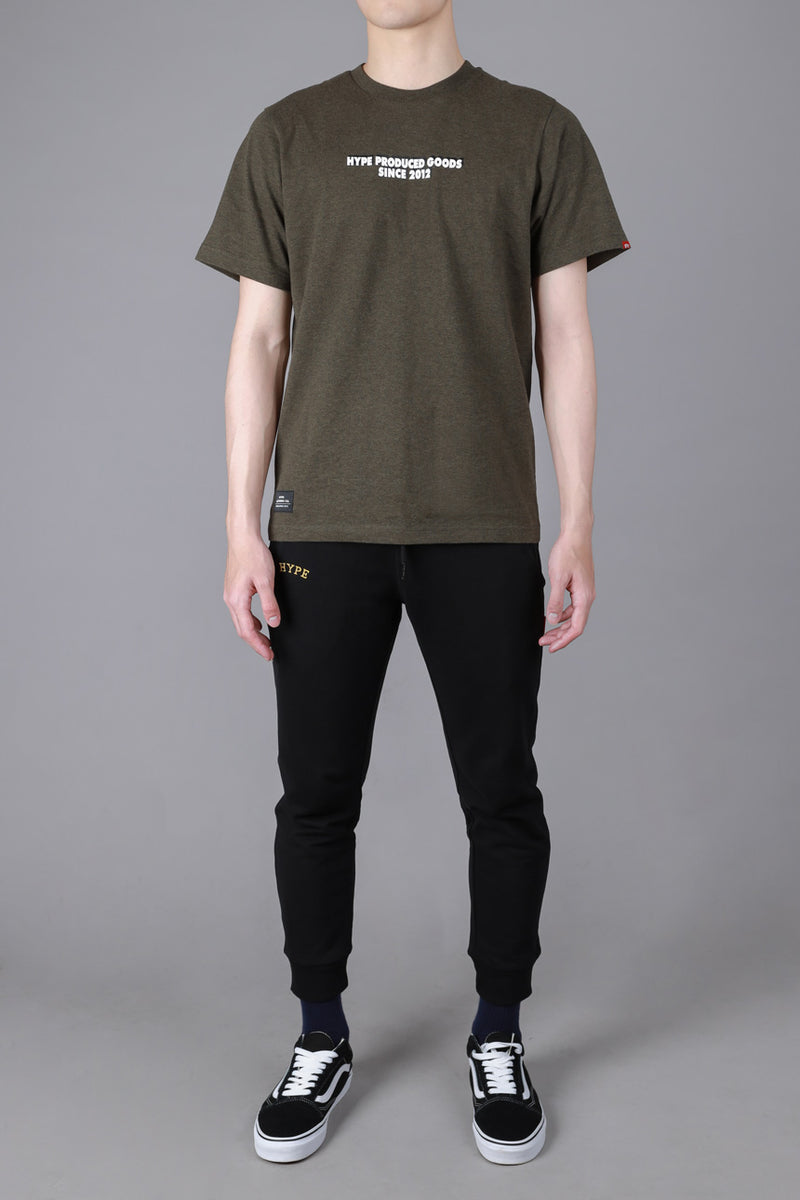 Seasonal Rhett Short Sleeve Tee | Dark Heather Green