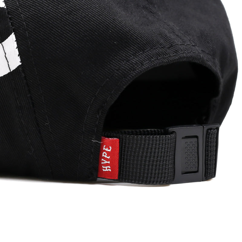 Seasonal Rupture 5 Panel Cap | Black