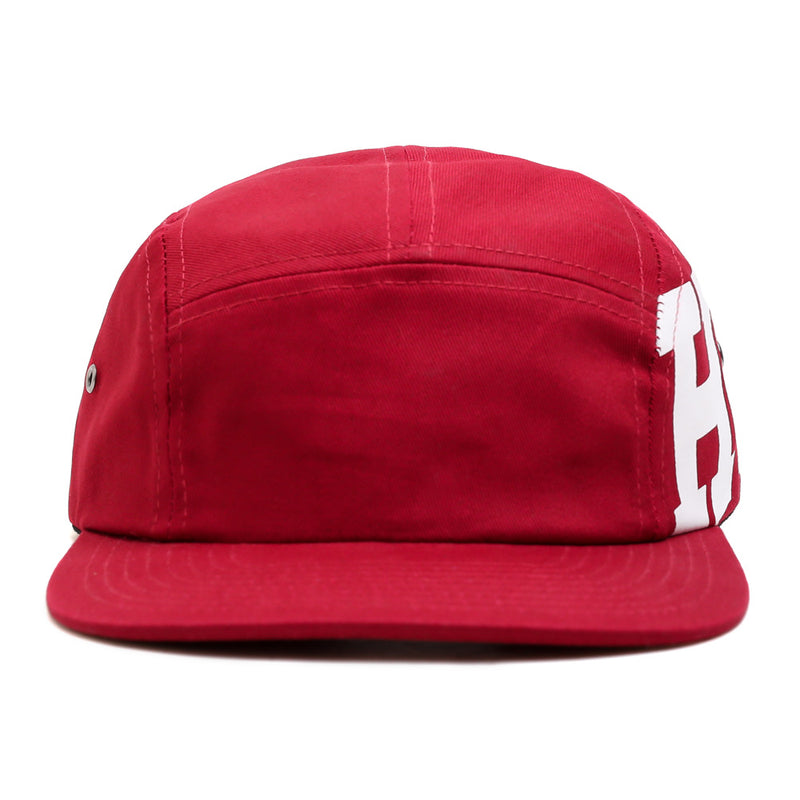 Seasonal Rupture 5 Panel Cap | Maroon