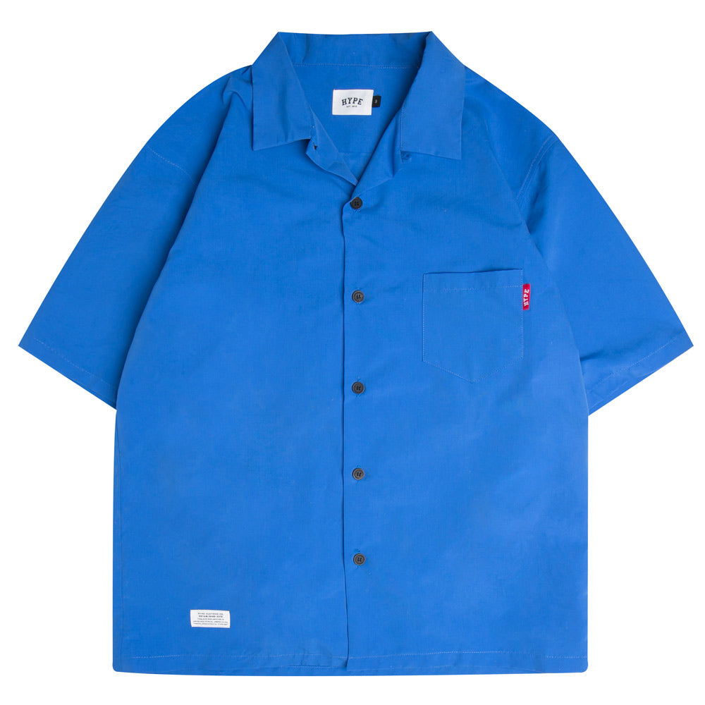 Seasonal Surf Short Sleeve Shirt | Blue