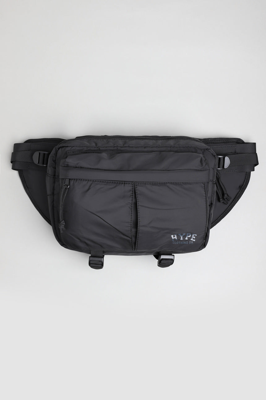 Seasonal Waist Pouch Bag | Black