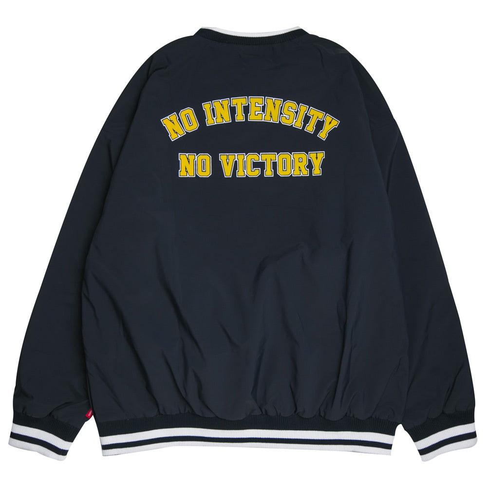 Seasonal Warrior V Neck Pullover Jacket | Navy