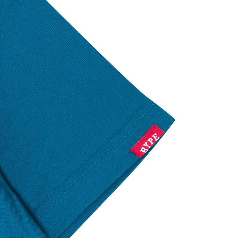 Seasonal Wesley Short Sleeve Tee | Turquoise