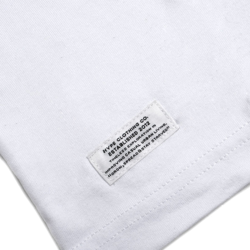 Seasonal Wesley Short Sleeve Tee | White