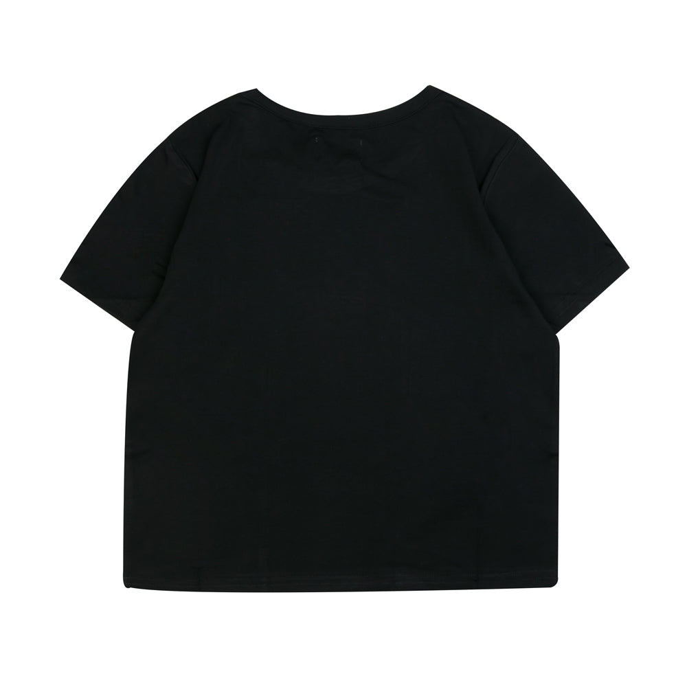 Seasonal Women Kyra Crop Top | Black