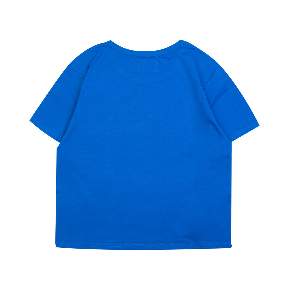 Seasonal Women Kyra Crop Top | Blue