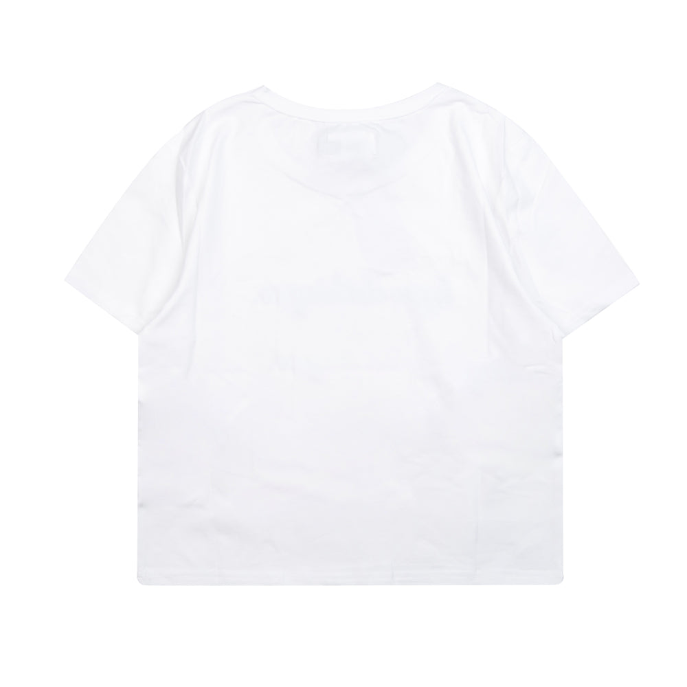 Seasonal Women Kyra Crop Top | White