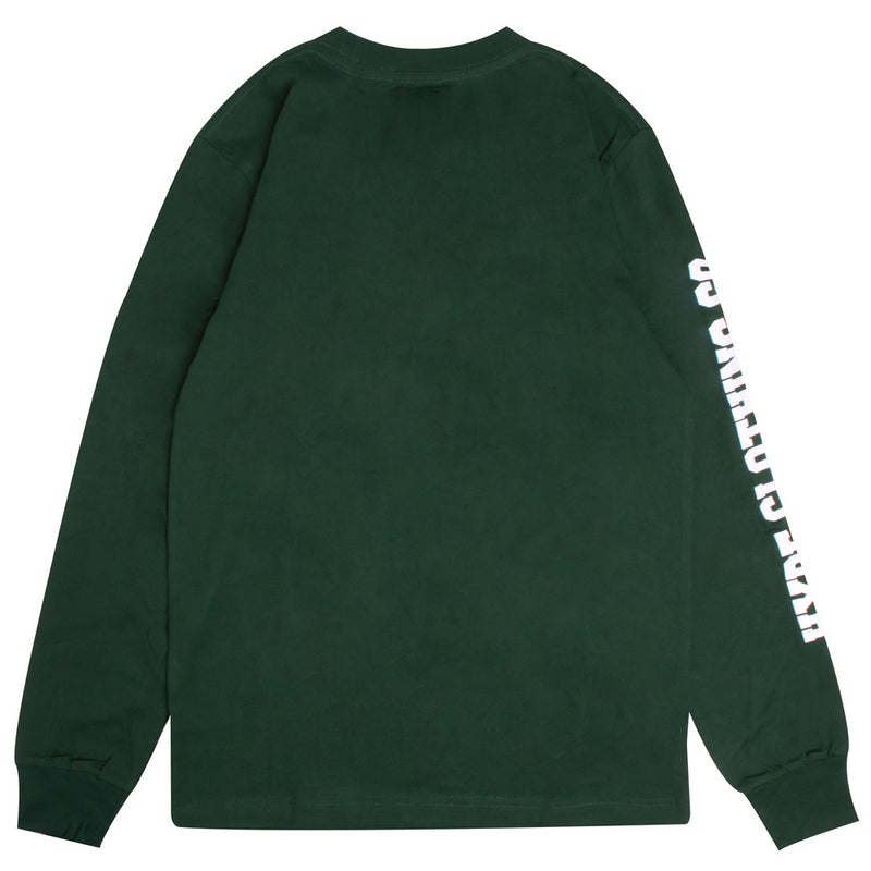 Signature Captain Long Sleeve Tee | Green