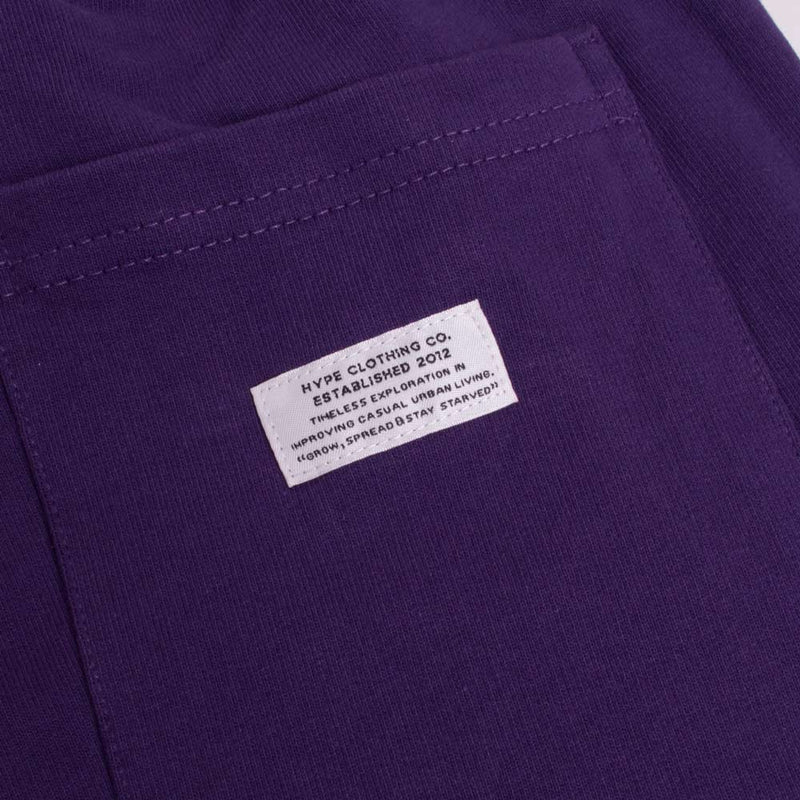 Signature Captain Long Sweatpants | Purple