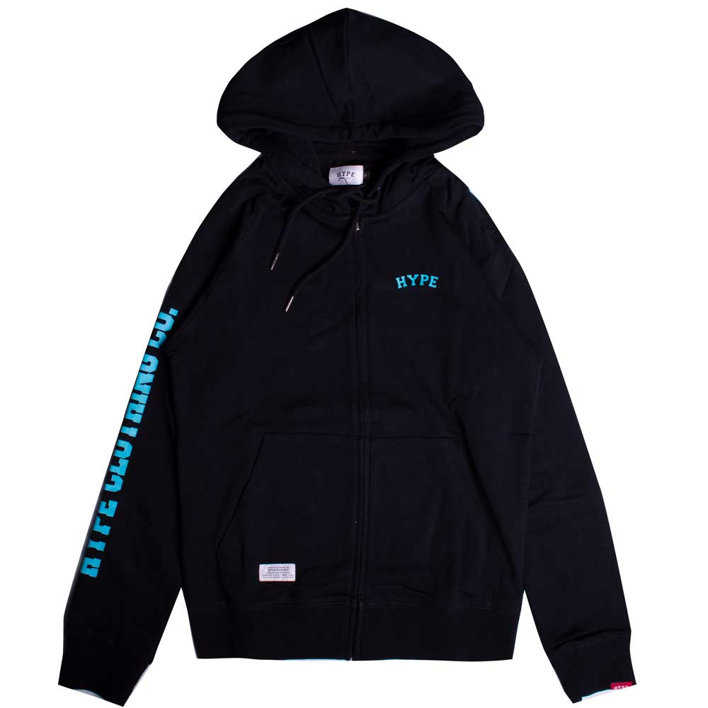 Signature Captain Zip Hoodie | Black