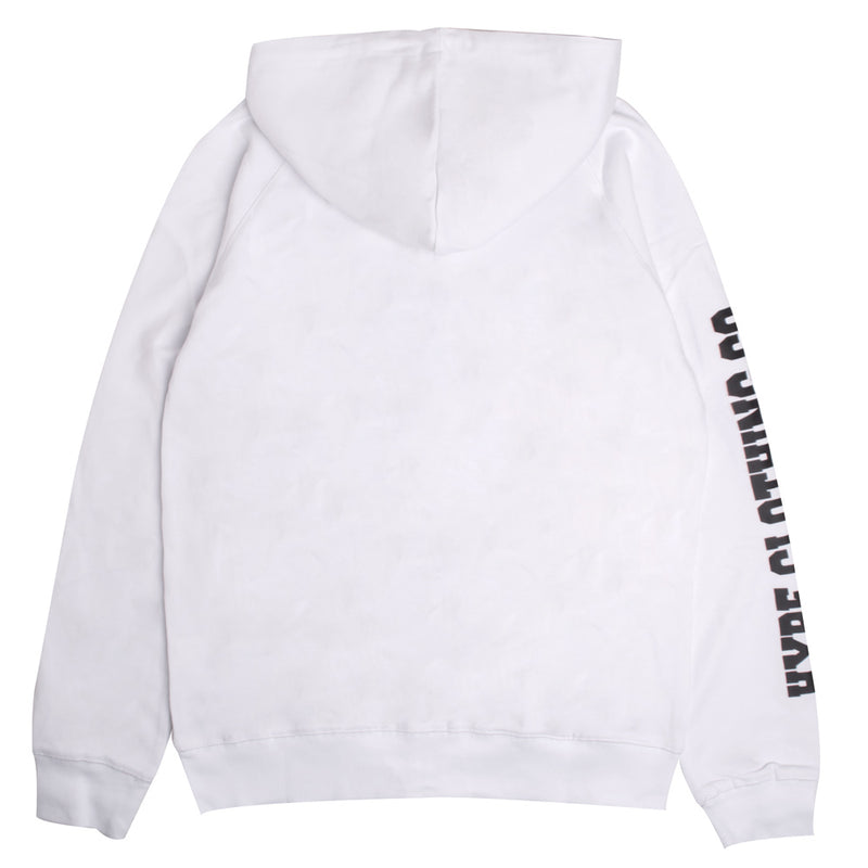 Signature Captain Zip Hoodie | White