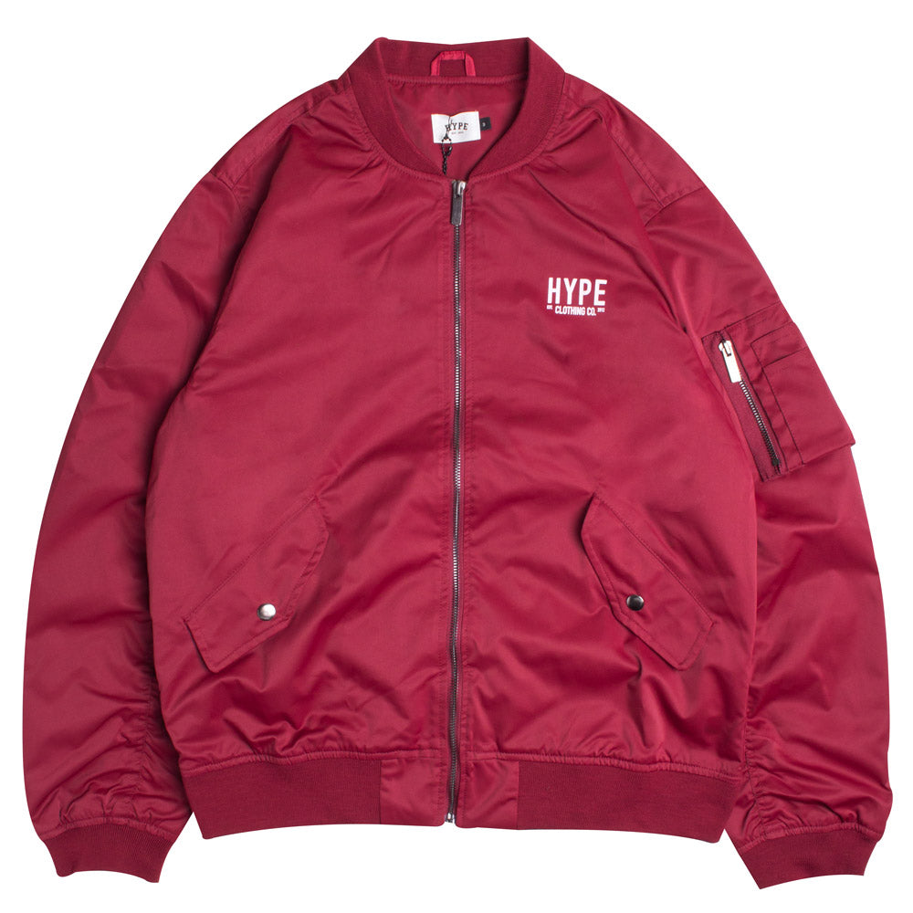 Signature Chief MA1 Jacket | Maroon