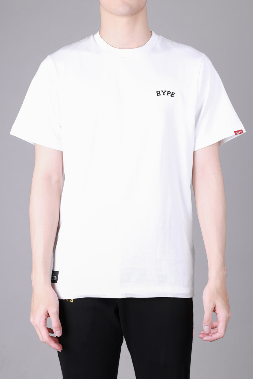 Signature Chief Short Sleeve Tee | White