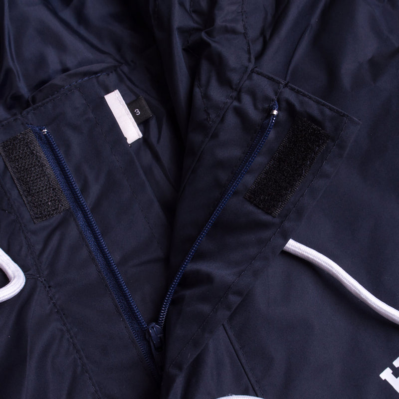 Signature Chief Windbreaker Pullover | Navy