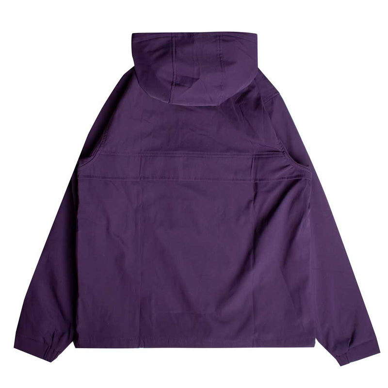Signature Chief Windbreaker Pullover | Purple