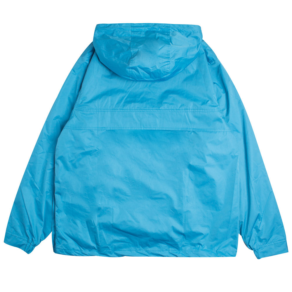 Signature Chief Windbreaker Pullover | Turquoise Blue