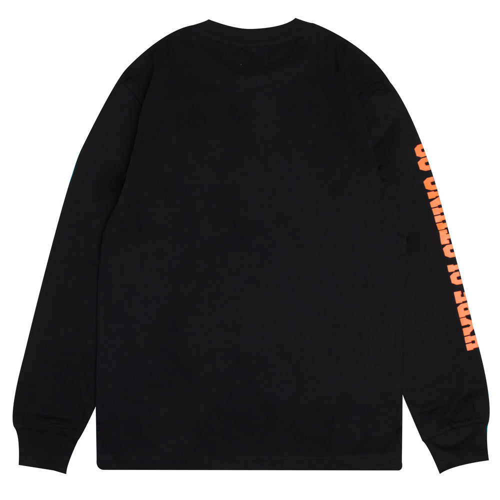 Signature Colonel Long Sleeve Tee | Black