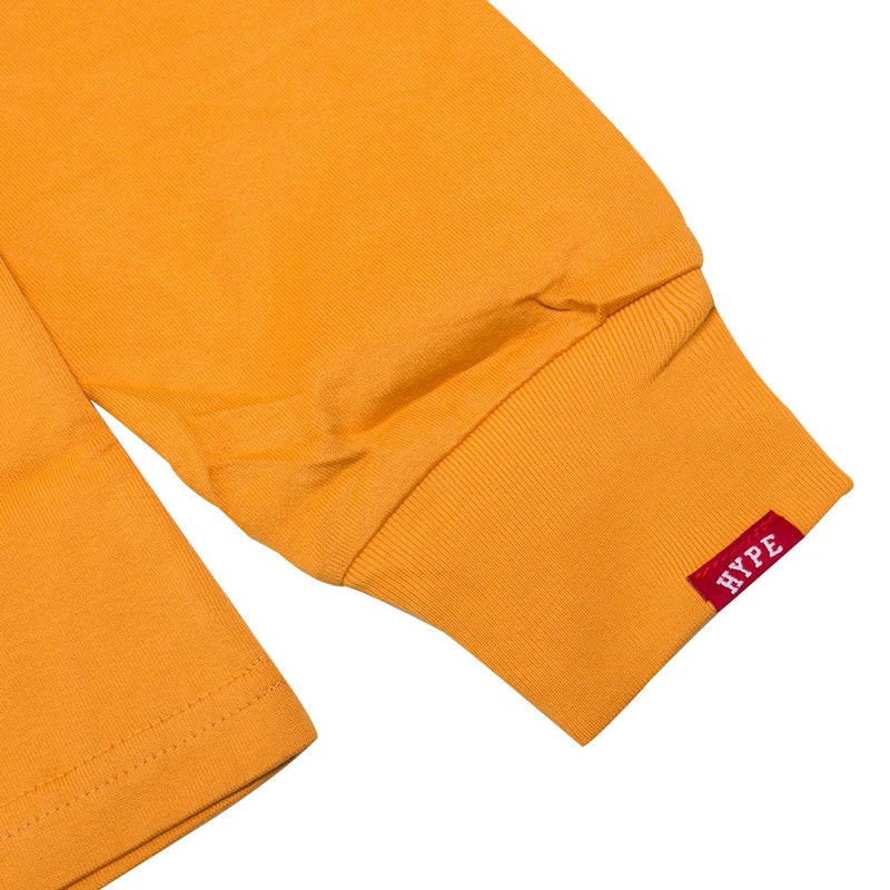 Signature Colonel Long Sleeve Tee | Mustard