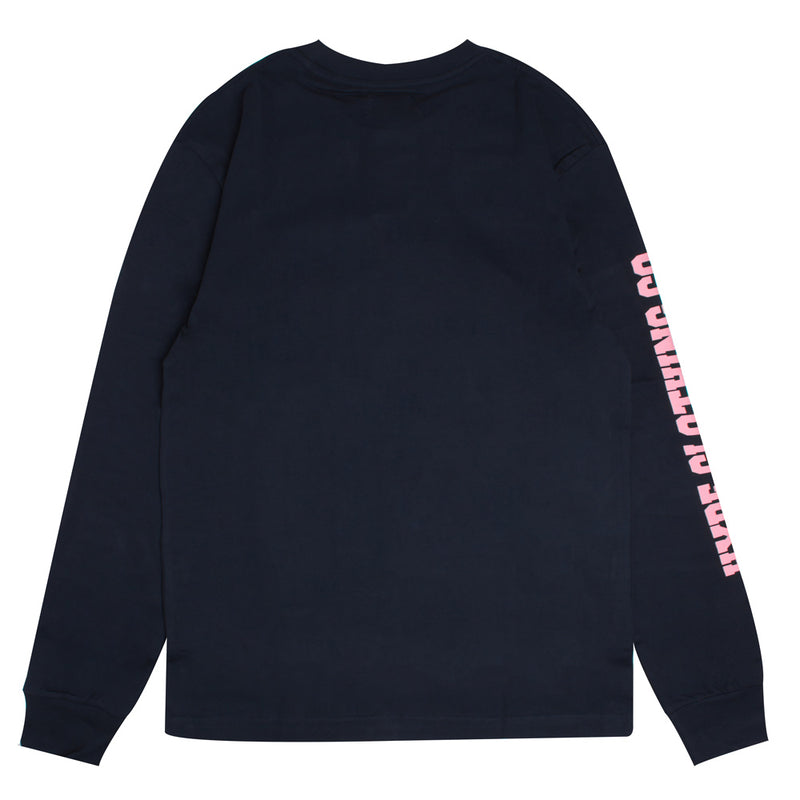 Signature Colonel Long Sleeve Tee | Navy