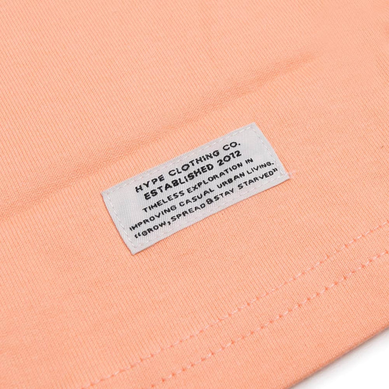 Signature Colonel Long Sleeve Tee | Peach