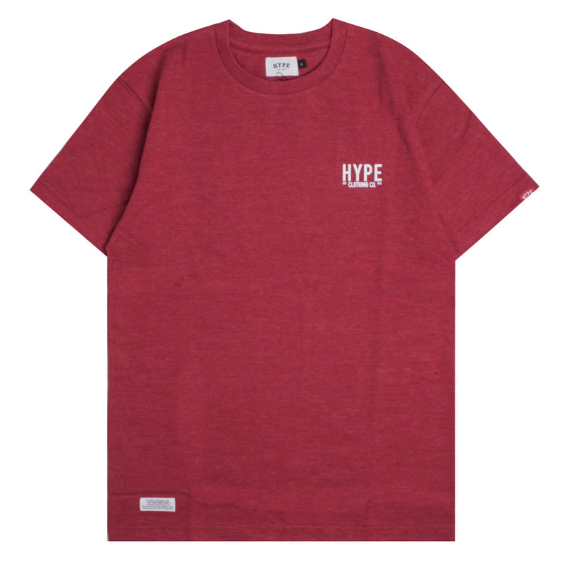 Signature Colonel Short Sleeve Tee | Heather Red