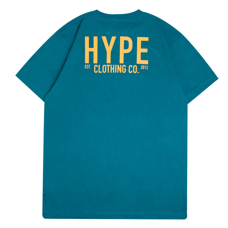 Signature Colonel Short Sleeve Tee | Turquoise