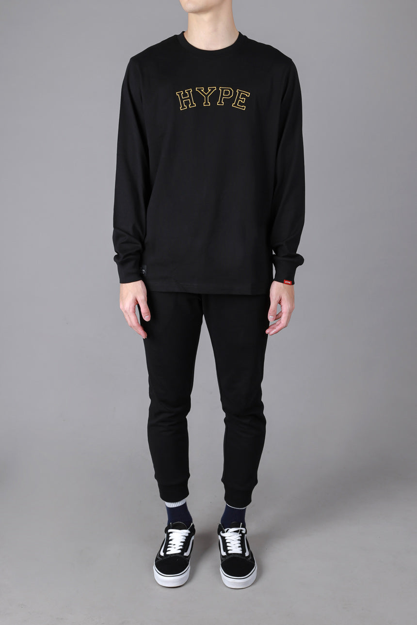 Signature General Long Sleeve Tee | Black