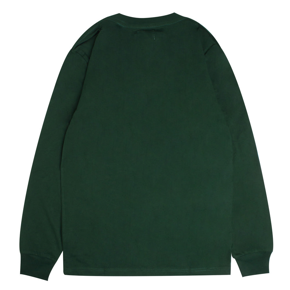 Signature General Long Sleeve Tee | Green