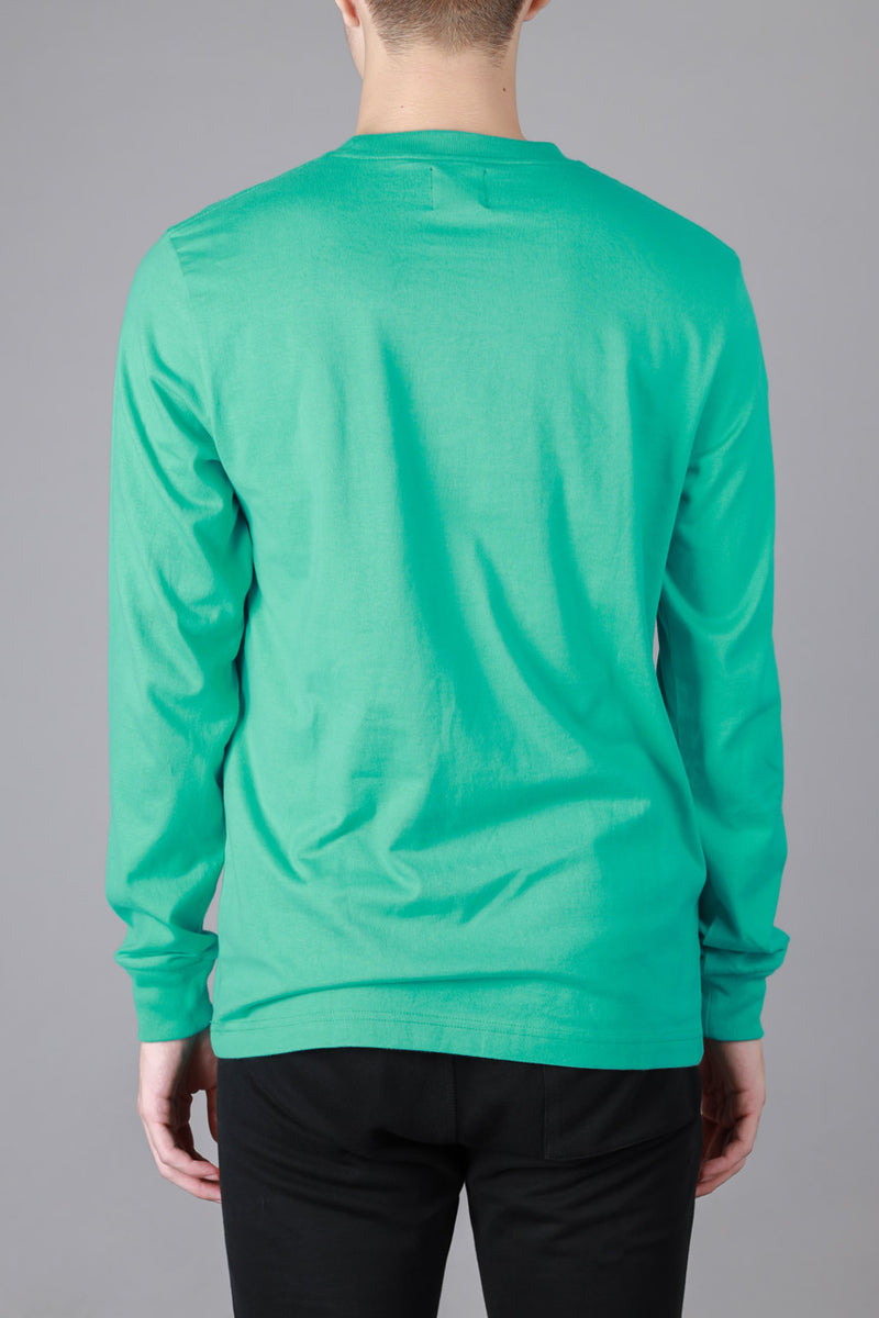Signature General Long Sleeve Tee | Light Green