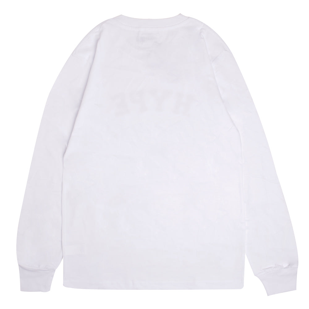 Signature General Long Sleeve Tee | White