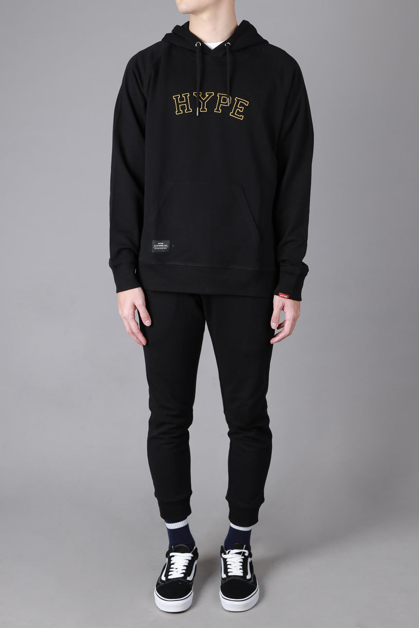 Signature General Pullover Hoodie | Black