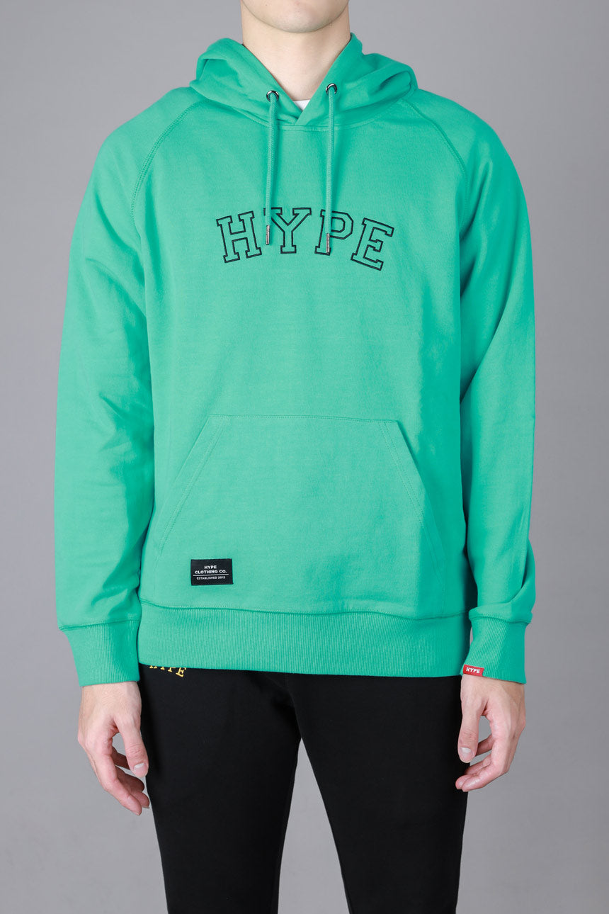 Signature General Pullover Hoodie | Light Green