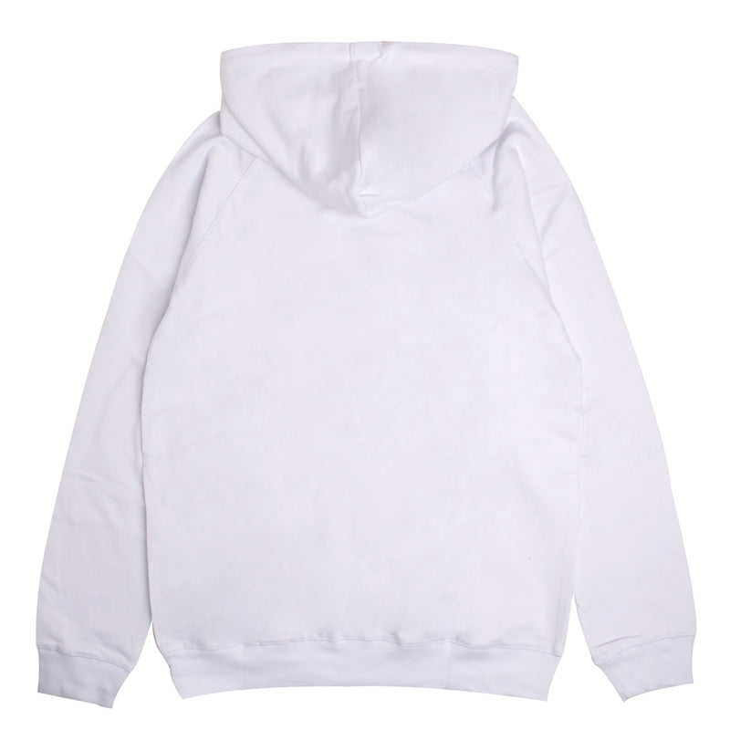 Signature General Pullover Hoodie | White
