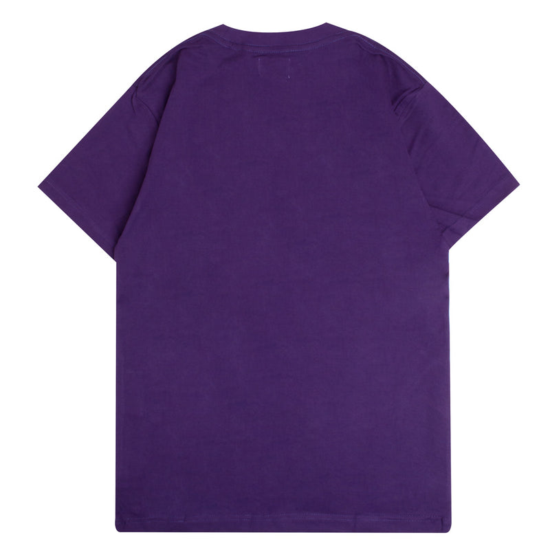 Signature General Short Sleeve Tee | Purple