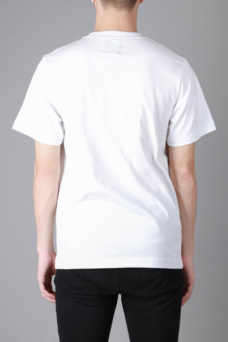 Signature General Short Sleeve Tee | White