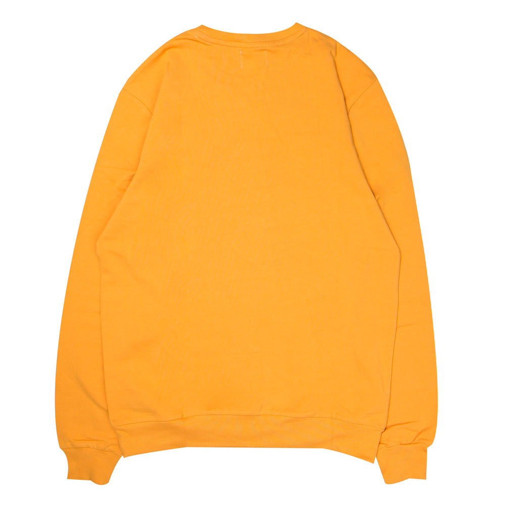 Signature Major Crewneck Sweater | Mustard