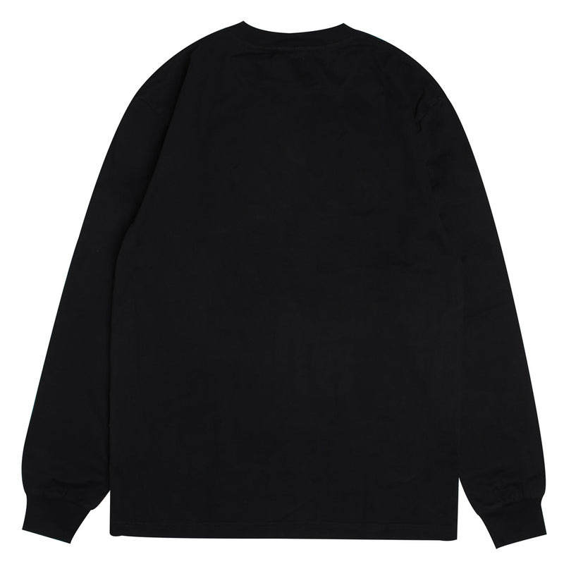 Signature Major Long Sleeve Tee | Black
