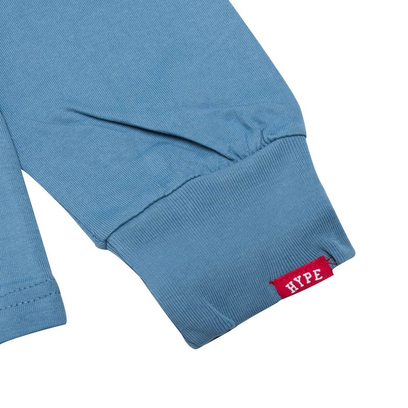 Signature Major Long Sleeve Tee | Blue