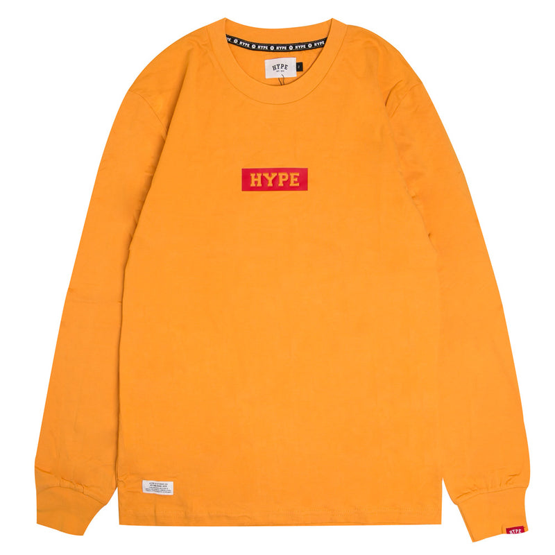 Signature Major Long Sleeve Tee | Mustard