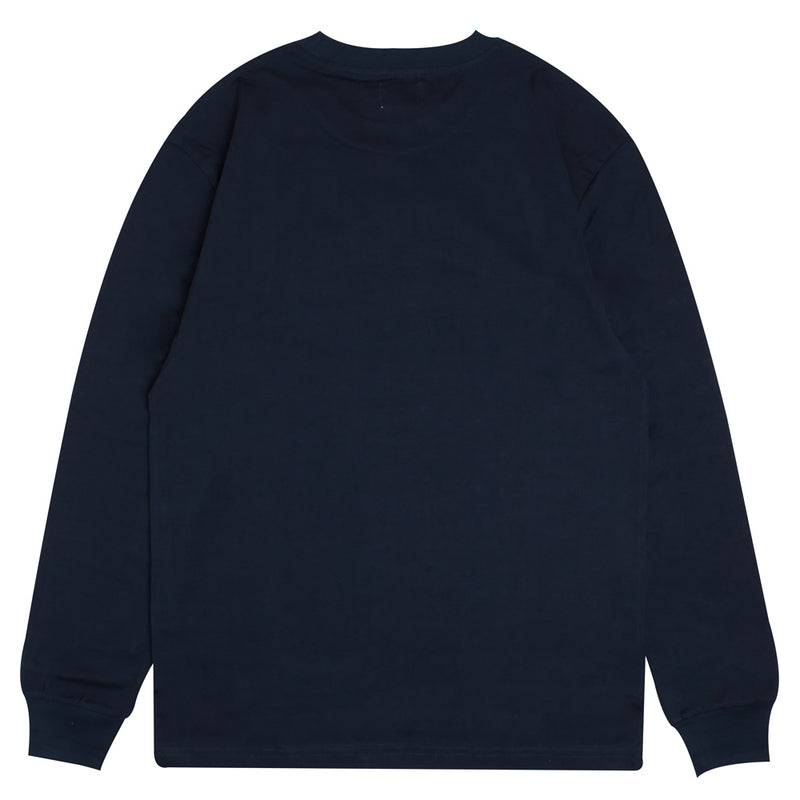 Signature Major Long Sleeve Tee | Navy