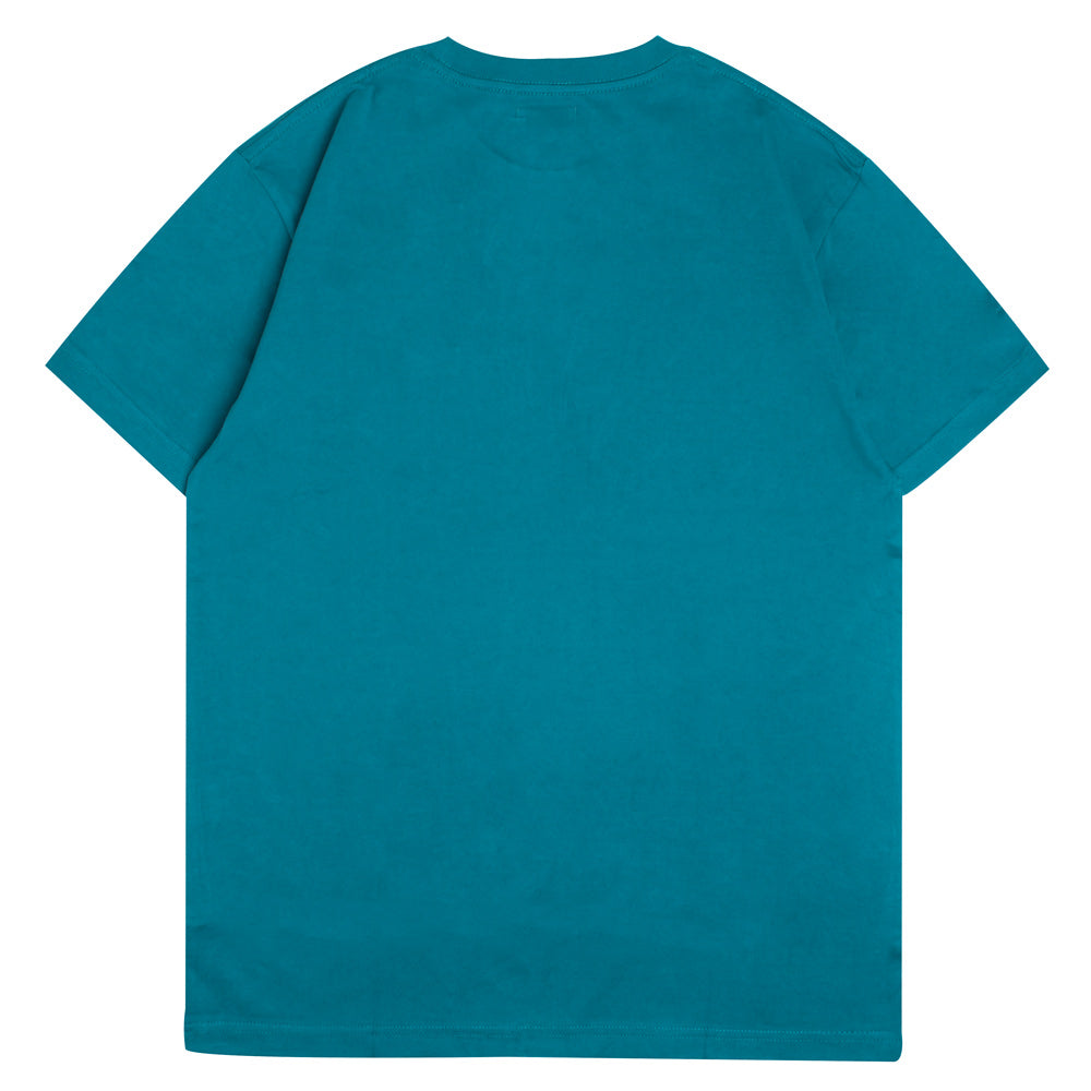 Signature Major Pocket Short Sleeve Tee | Turquoise
