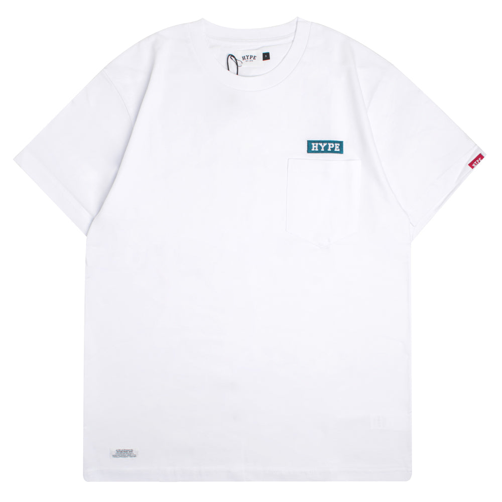 Signature Major Pocket Short Sleeve Tee | White