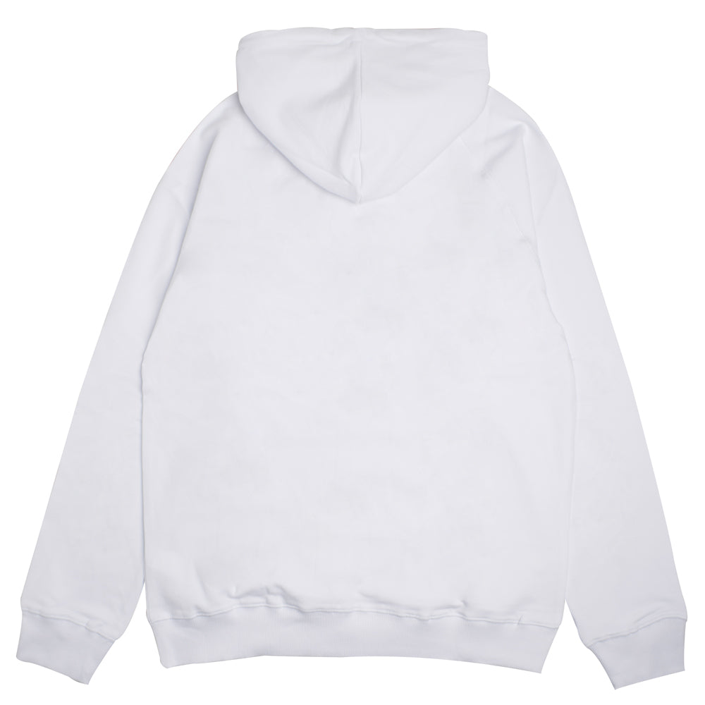 Signature Major Pullover Hoodie | White