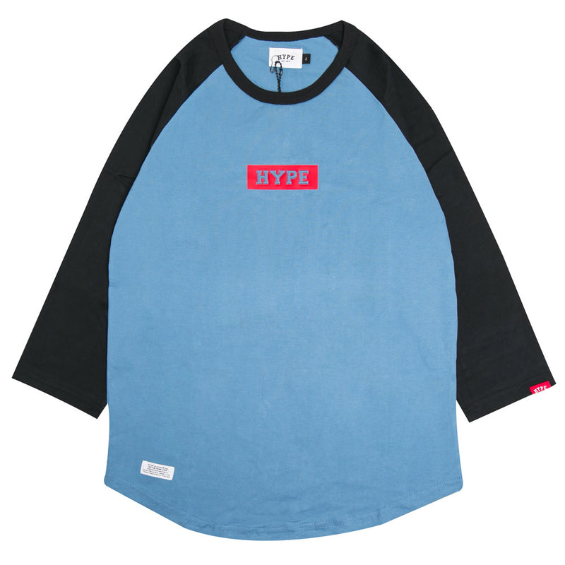 Signature Major Raglan | Blue/Black
